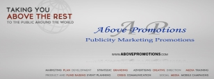 Above Promotions Company Facebook Cover www.facebook.com/abovepromotionsco