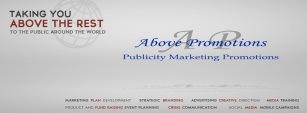 Above Promotions Company Facebook Cover at www.facebook.com/abovepromotionsco