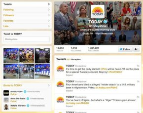 TODAY Show Twitter Profile. Larger Header Image. Above Promotions Company. Tampa, FL Photo Courtesy of Twitter/TODAY.
