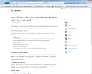 Facebook and Dropbox are dating! Above Promotions Company. Tampa, FL 2012