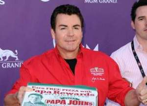 John Schnatter, CEO of Papa John's, makes news over Affordable Healthcare for employees. Photo Courtesy of Jason Merritt/Getty Images. Above Promotions Company. Tampa, FL 2012.