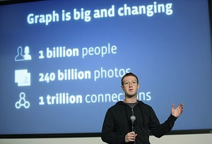 Mark Zuckerberg introduces Graph Search (Image credit: Getty Images via @daylife). Above Promotions Company. Tampa, FL. 2013
