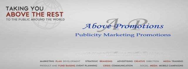 Above Promotions Company. Tampa, FL 2013. www.abovepromotions.com. Old Facebook Cover Photo Image.