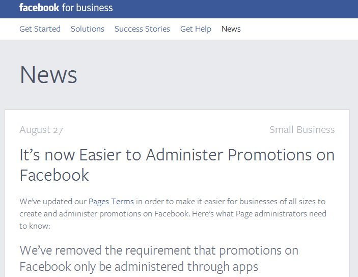 Facebook features – Above Promotions – Public Relations, PR