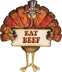 Eat beef Thanksgiving 2013 Funnypicsquotes Above Promotions Company Tampa FL