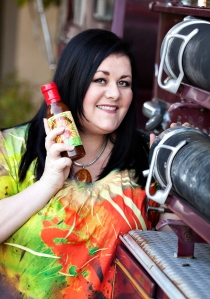 Michele Northrup, Founder of the award winning Intensity Academy Sauces. January Guest Blogger. Above Promotions Company, Tampa, FL.
